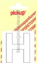 Letter H Helvetica decorative selbstkleber Pick-up alle bilder