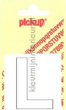Letter L Helvetica decorative selbstkleber Pick-up alle bilder