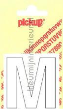 Letter M Helvetica decorative selbstkleber Pick-up alle bilder