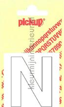 Letter N Helvetica decoration stickers Pick-up all images
