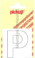 Letter P Helvetica decorative selbstkleber Pick-up alle bilder