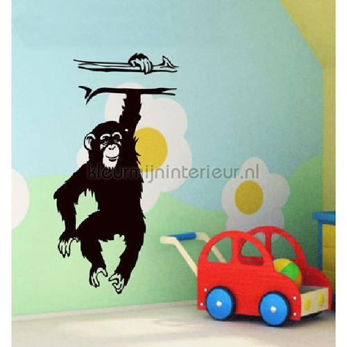 Monkey decoration stickers DP-056 jungle Coart