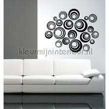 Orbital zwart decoration stickers Coart Coart Wall Sticker DP-071-114