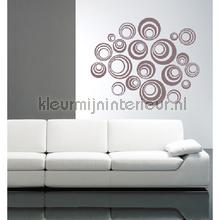 Orbital bruingrijs decoration stickers Coart Coart Wall Sticker DP-071-131