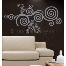 Luna grijs decoration stickers Coart Coart Wall Sticker DP-165-111