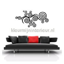 Luna zwart decoration stickers Coart Coart Wall Sticker DP-165-114