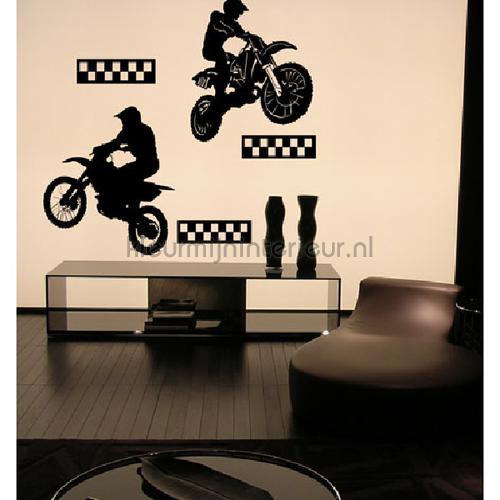 Motorcross wallstickers DP-317 sport Coart
