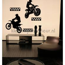 Motorcross decoration stickers Coart teenager