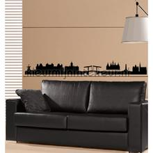 Amsterdam Skyline decoration stickers Coart teenager