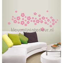 Daisy licht roze decoration stickers Coart Coart Wall Sticker DP-764-109