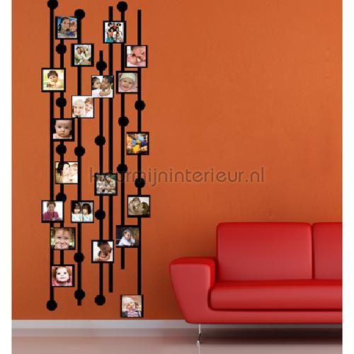 Foto blok wallstickers DP-818 abstrakte moderne Coart