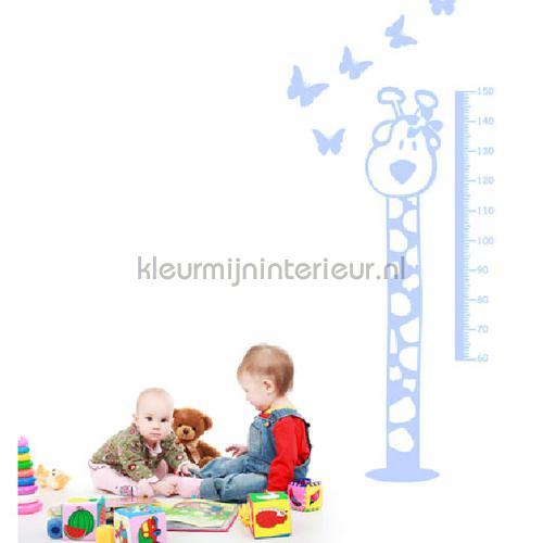 Height licht blauw stickers mureaux DP-821-117 Bébé - Enfant Coart