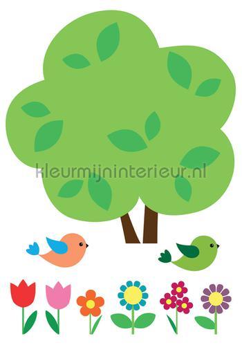 Boom Muursticker Kinderen stickers mureaux 18303 Bébé - Enfant Imagicom