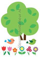 Boom Muursticker Kinderen decoration stickers Imagicom Crearreda collectie 18303