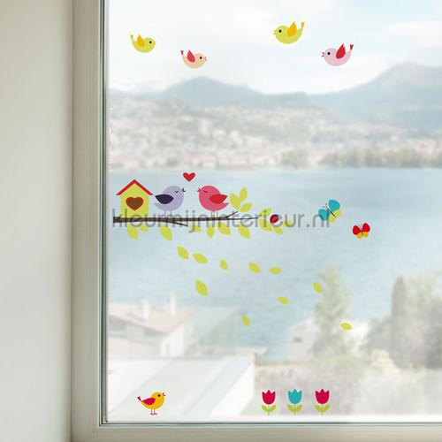 Vogels Raamsticker wallstickers 64010 Crearreda collection