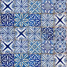 Azulejos keukenwand sticker blauw stickers mureaux Crearreda Voitures Transport