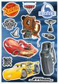 Cars 3 raamstickers decoration stickers Komar teenager
