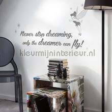Disney never stop dreaming interieurstickers Komar meisjes