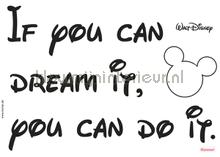 Disney you can do it interieurstickers Komar meisjes