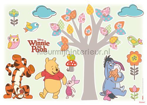 winnie pooh nature lovers stickers mureaux 14014h Bébé - Enfant Komar
