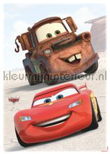 Cars friends interieurstickers Komar jongens