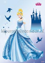 Disney princess dream interieurstickers Komar meisjes