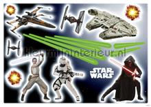 Star wars ep7 interieurstickers Komar jongens