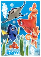 Dory and friends interieurstickers Komar Baby Peuter