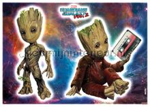 Groot decoration stickers Komar teenager