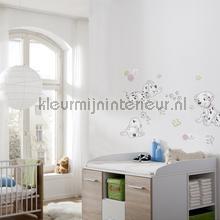Best of friends interieurstickers Komar Baby Peuter