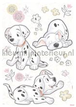 Best of friends interieurstickers Komar Baby Peuter