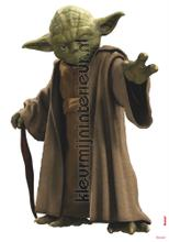 Star wars yoda interieurstickers Komar jongens