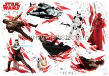 Star wars the last jedi interieurstickers Komar jongens