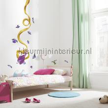 Rapunzel interieurstickers Komar meisjes