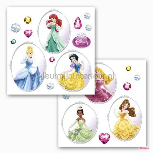 disney princess decoration stickers 16402 window stickers Komar