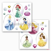 Disney princess interieurstickers Komar raamstickers