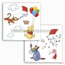 Winnie pooh wallstickers Komar alle billeder