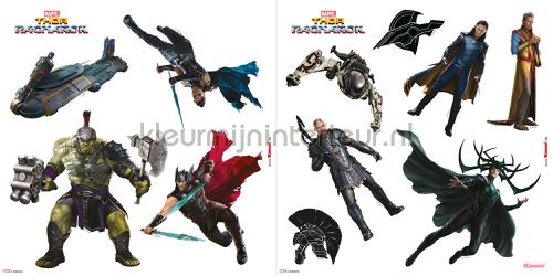 Stickers Kinderkamer Disney.Avengers 16410 Decoration Stickers Disney Edition 3 Komar