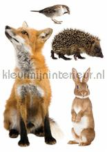 Stickerset forest friends 3 interieurstickers Kek Amsterdam Baby Peuter