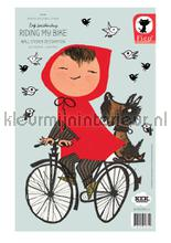 Fiep westendorp riding my bike interieurstickers Kek Amsterdam Baby Peuter