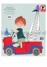 Fiep westendorp red tow truck interieurstickers Kek Amsterdam Baby Peuter