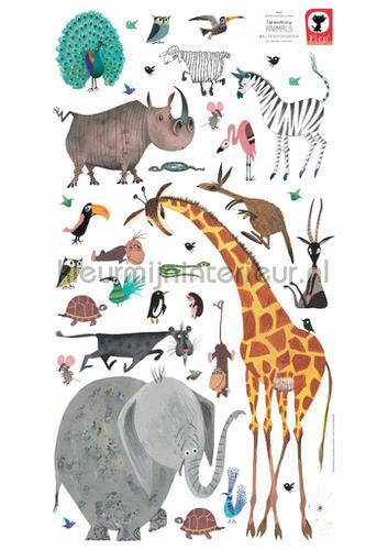 fiep westendorp animals xl stickers mureaux ms-618 Bébé - Enfant Kek Amsterdam