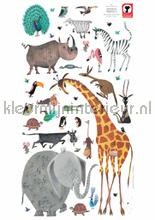 fiep westendorp animals xl wallstickers Kek Amsterdam Muurstickers ms-618
