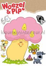 woezel en pip decoration stickers Kek Amsterdam Muurstickers ms-730