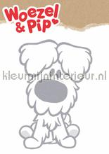 Woezel xl decoration stickers Kek Amsterdam window stickers