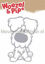 Woezel xl decoration stickers Kek Amsterdam teenager