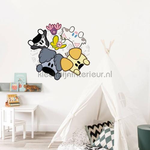 woezel en pip xl stickers mureaux ms-733 Bébé - Enfant Kek Amsterdam