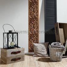 Koffiebonen XL sticker interieurstickers AS Creation abstract modern
