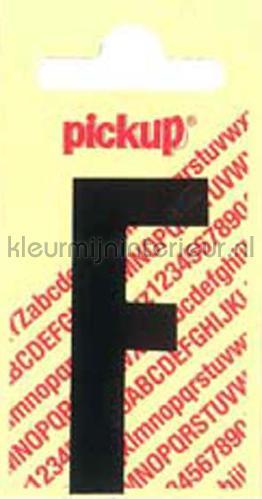 letter F Nobel decorative selbstkleber f-zwart zahlen und buchstaben Pick-up