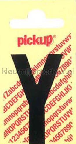 letter Y Nobel decorative selbstkleber y-zwart zahlen und buchstaben Pick-up
